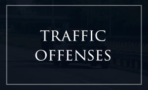 traffic offenses home